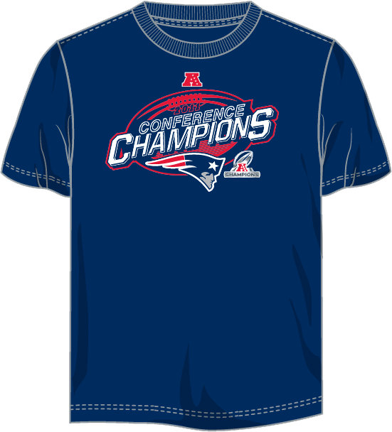 New England Patriots - 2012 AFC Champions Tee Shirt